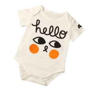 213c9136e Ensemble de vêtements Fille Letters Boy Enfants bébé bébé coton Leopard