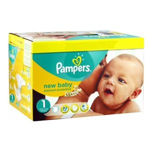 COUCHE 224 Couches Pampers New Baby Premium Protection ta