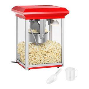 MACHINE À POP-CORN ÉLEC Machine à popcorn rouge - 8 onces