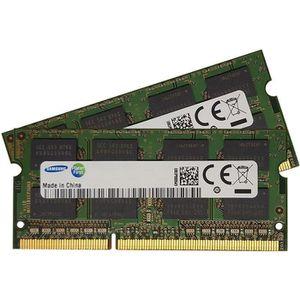 MÉMOIRE RAM Composants 2 barrettes RAM Samsung - SO-DIMM - 1go