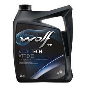 HUILE TRANSMISSION Bidon 1 litre d'huile de transmission Wolf ATF …