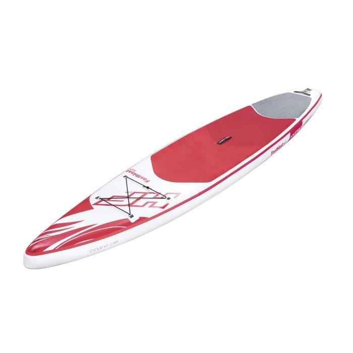 BESTWAY Paddle Gonflable Fastblast Tech SUP avec accessoires