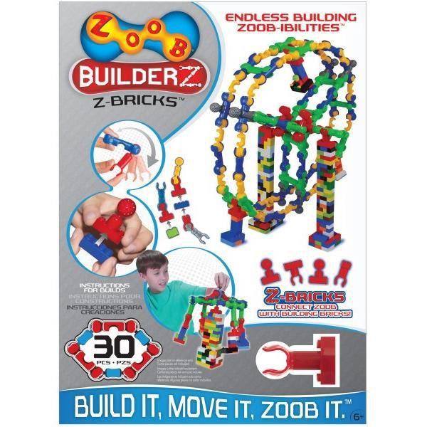 ALEX Briques de Connexion  BuilderZ - Nouveau genre de brique - A partir de 6 ans