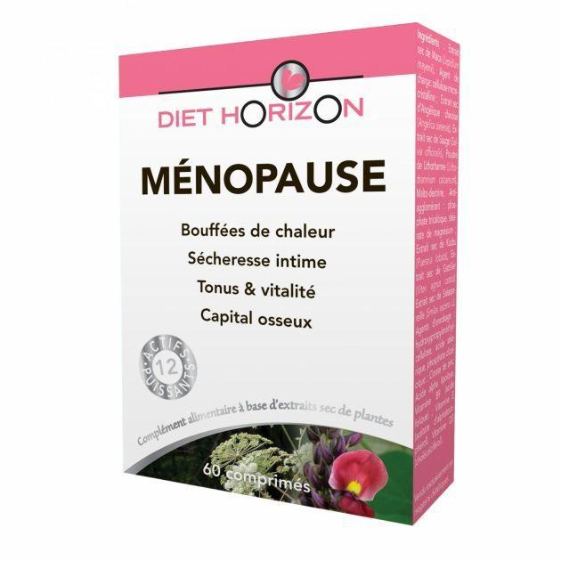 MÉNOPAUSE - ANDROPAUSE Ménopause 60 comprimés Menopause - Diet Horizon…