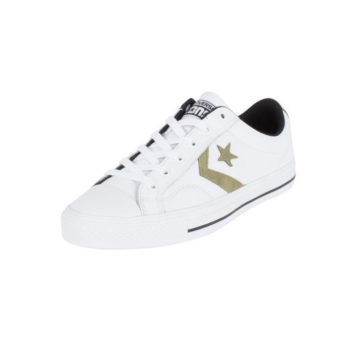 Converse Homme Star Player Formateurs OX en cuir z5kglGzaNY