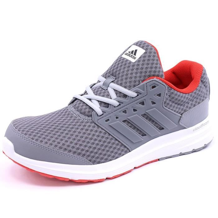 3 Homme Chaussures Galaxy Adidas Gris Running hQrCdxts