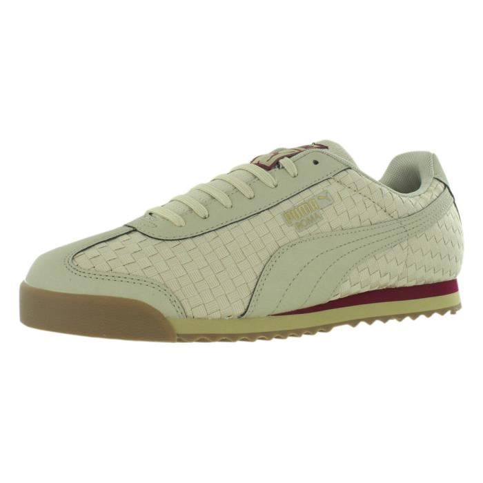 Vente Roma Beige 44 Puma Yhlay Taille Achat Sneaker Weave cALqS4j35R