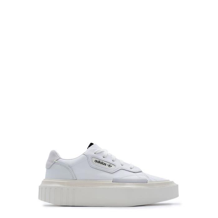 Baskets G54050 Blanc Femme Cuir Adidas z7qY0wZ