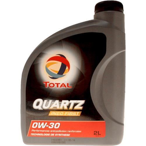 Bidon 0W30 INEO huile spéciale First Total 2 Quartz moteur litres HH6Pvq