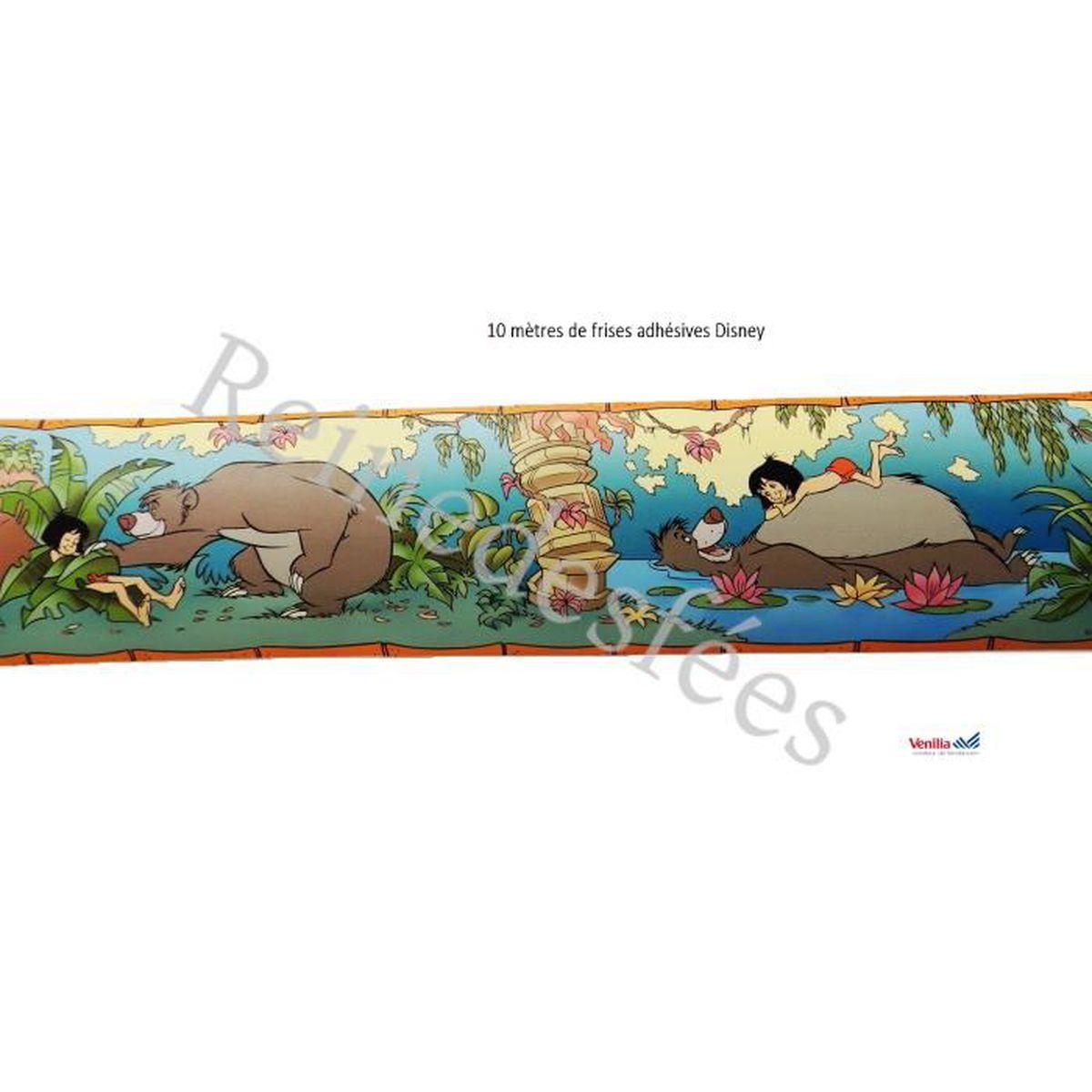 10 m de frise adh sive disney mowgli le livre de la jungle for Frise autocollante pour salle de bain