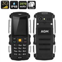 SPECTROPHOTOMETRE Rugged Mobile Phone AGM M1 - IP68, Dual-IMEI, 3G,