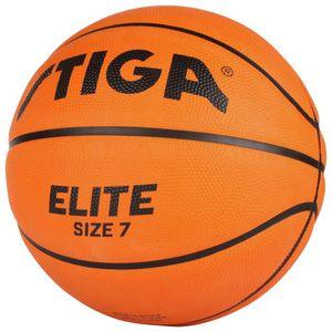 BALLON DE BASKET-BALL STIGA Ballon de basket-ball Elite  - Orange - Tail