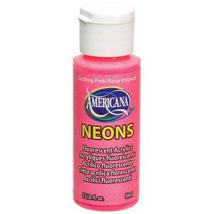 AMERICANA Bouteille de peinture acrylique Sizzling Pink Neons 59 ml