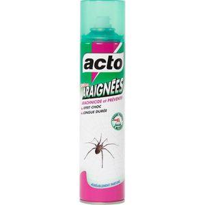 PRODUIT INSECTICIDE Insecticide araignées Acto - Aérosol 400 ml