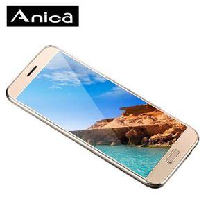 Téléphone portable Anica T7 téléphone portable Mini Touch Control/Or