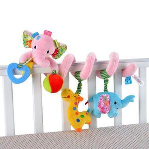 Hanging Spiral Toy avec animaux color/é poussette voiture si/ège auto jouet pour accrocher sur landau poussettes voiture si/ège auto lit