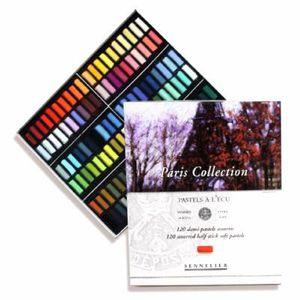 PASTELS - CRAIE D'ART Coffret de 120 1/2 pastels à l'Ecu Paris collec…