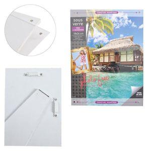 cadre sous verre achat vente cadre sous verre pas cher soldes d s le 10 janvier cdiscount. Black Bedroom Furniture Sets. Home Design Ideas