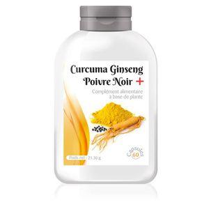 COMPLÉMENT ARTICULATION Curcuma Ginseng Poivre Noir +, 95% 100MG