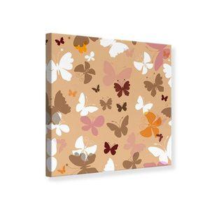 tableau toile papillon achat vente tableau toile papillon pas cher cdiscount. Black Bedroom Furniture Sets. Home Design Ideas