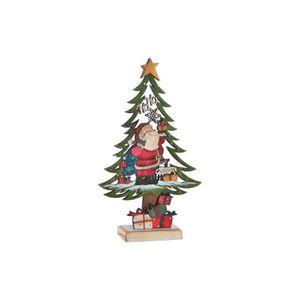 SAPIN - ARBRE DE NOËL Arbre de Noël en bois -18,5 x 6 x 30,5 cm - 2 modè