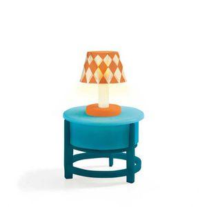 MAISON POUPÉE Mobilier pour maison de poupées : Lampe sur table