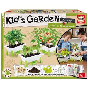 JEU D'APPRENTISSAGE EDUCA Kid's Garden - Tomate, Laitue et Roquette