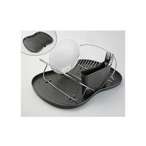 egouttoir vaisselle noir achat vente egouttoir vaisselle noir pas cher cdiscount. Black Bedroom Furniture Sets. Home Design Ideas