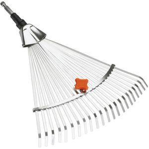 BALAI À FEUILLES  GARDENA Balai à gazon largeur réglable: 30 à 50cm