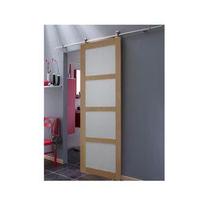 porte coulissante 73cm achat vente pas cher. Black Bedroom Furniture Sets. Home Design Ideas