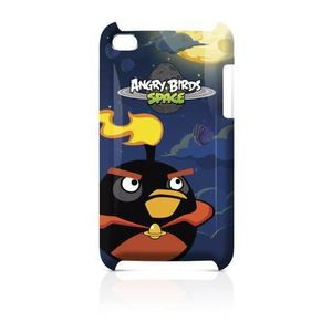 COQUE MP3-MP4 Gear4 Angry Birds Space Coque pour iPod Touch 4 Bl