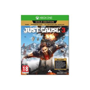 JEU XBOX ONE Just Cause 3 Gold Edition - Xbox One - italien