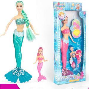 POUPÉE MENGMA Sirène Poupée Poupon Barbie Sirène 36cm Jou