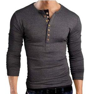 de6d15cd34980 Tee shirt manche longue slim homme - Achat / Vente pas cher