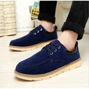 JOZSI Chaussures Hommes Cuir Respirant mode Homme chaussure de ville DTG-XZ200Rouge38 RzuwT