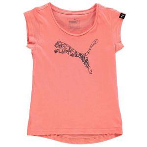 Tee-Shirts Puma Mode Sport Enfant - Achat   Vente Tee-Shirts Puma ... 4565be2eb0f