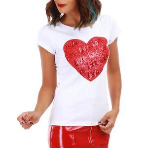 350d1b7440cf1 T-Shirt La modeuse femme - Achat   Vente T-Shirt La modeuse femme ...