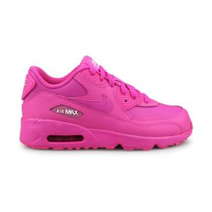 cheap for discount a4efc b8788 BASKET Nike Air Max 90 Leather Enfant Rose
