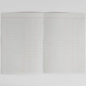 CAHIER Rhino Cahier de Comptes Format A4 8-Mm 32 Pages Li