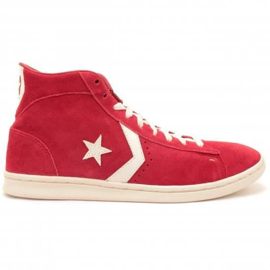 Converse Pro Leather Mid   Rouge - Achat / Vente basket