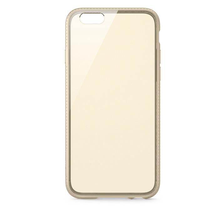 Belkin Coque de protection pour iPhone Plus - Or