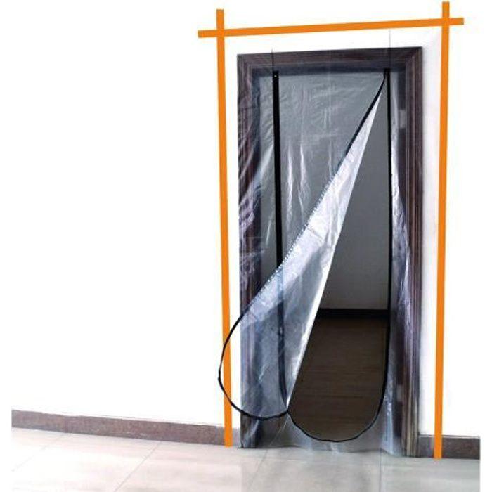 MEISTER Porte anti-poussière avec fermeture éclair