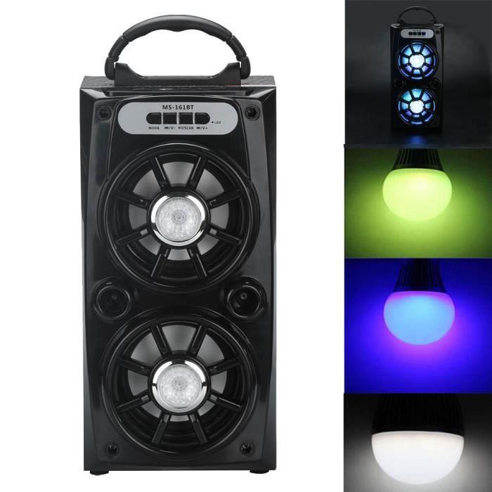 Extérieur Sans Fil Bluetooth Haut-parleur Portable Super Bass Avec Radio Usb - Tf Aux Fm_ma11726
