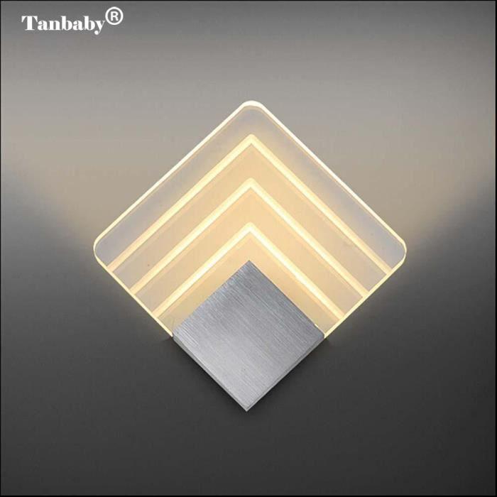 APPLIQUE  Lot de 10 Lampes Murale - 20cm - 5W LED Acrylique