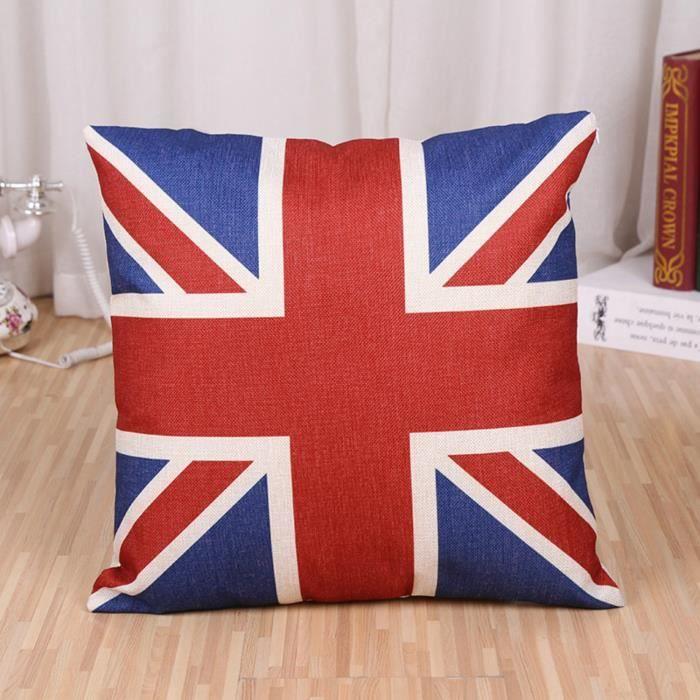 Coussin drapeau anglais - Achat / Vente pas