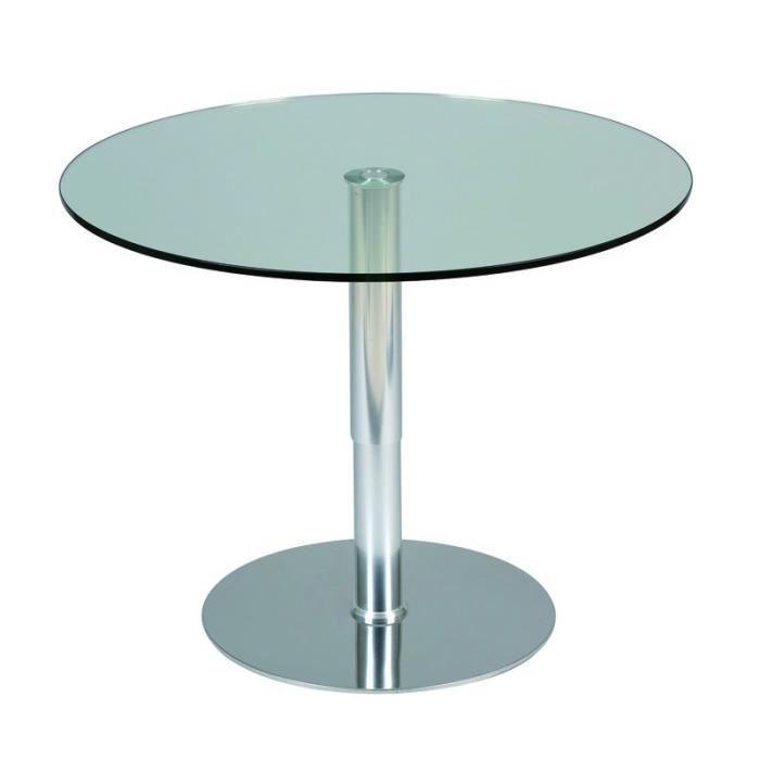Table haute plateau en verre - Achat / Vente Table haute plateau ...