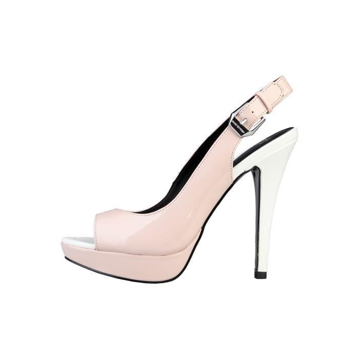 Sandales Femme Boucle Jeans Fermeture Versace Avec Chaussures Fntf0
