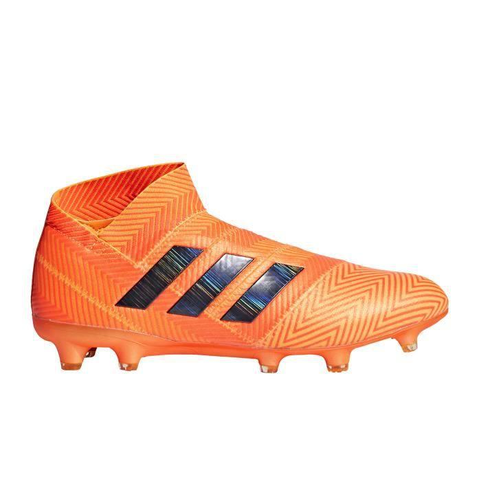 timeless design bec89 7ed55 Chaussures football adidas Nemeziz 18+ FG Orange