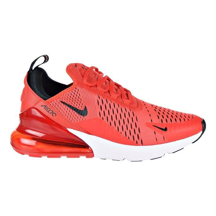 df52a3027df NIKE Air Max 270 Chaussures Hommes Habanero Rouge - Noir - Blanc ...