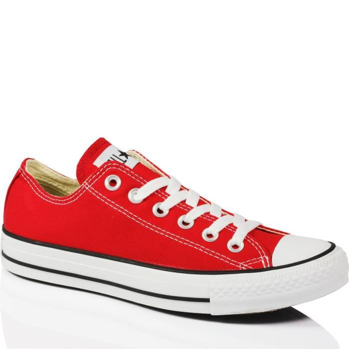 Meilleur prix Taille 39 Converse Rouge Rouge All Star